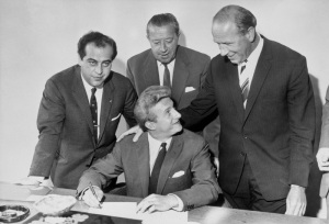 Soccer - Denis Law Signs For Manchester United