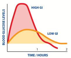 gi index curve