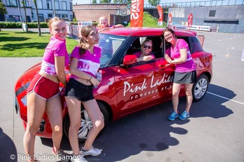 Pink Ladies Games Antwerpen 2018