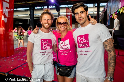Pink Ladies Games Antwerpen 2018
