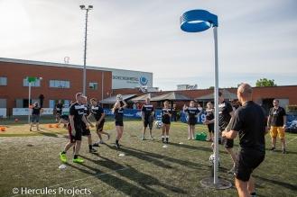 Sportief bedrijfs-event